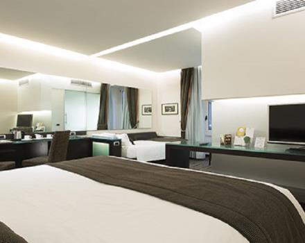 Discover the comfortable rooms at the Best Western Plus Hotel Universo in Roma