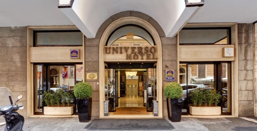 Rom Best Western Hotel Universo