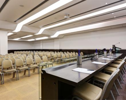 Annamaria Meeting room at BW PLUS Hotel 4 Star Universe in Rome!