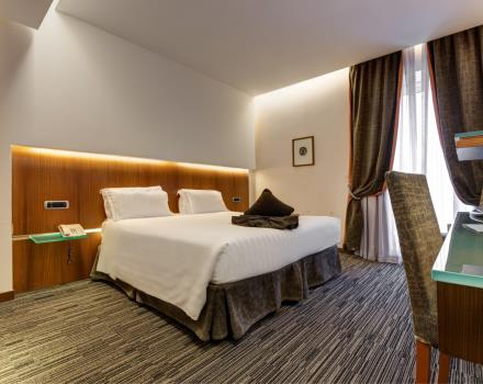 Standard room Best Western Plus 4 star Hotel Universo