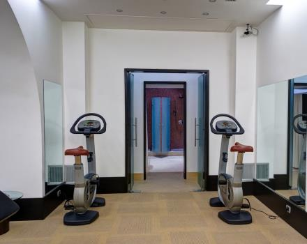 Palestra Centro Fitness Best Western Plus Hotel Universo 4 stelle