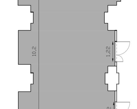 Meeting room floorplan Ludovica