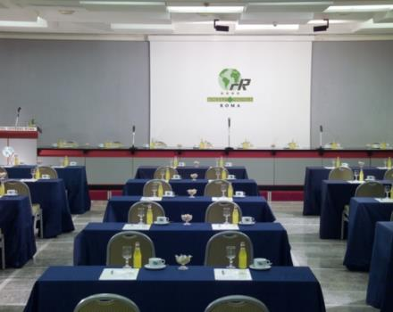 Discover the conference rooms in the Best Western Hotel Universo and organize your events in Rome